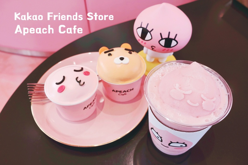 Kakao Friends Store釜山旗艦店Apeach Cafe 001.jpg