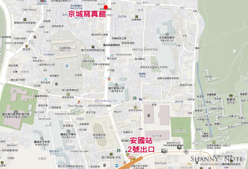 京城寫真館map