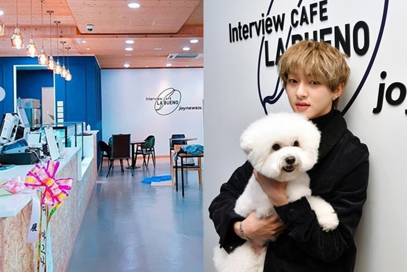 首爾弘大上水咖啡廳STAR CAFE LA BUENO카페 라부에노Golden Child宰鉉寵物專訪01.jpg