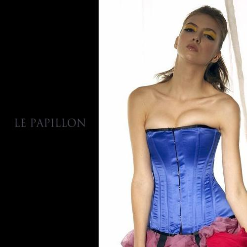 【LE PAPILLON】復古平口皇室長版馬甲 (寶藍) 56000.jpg