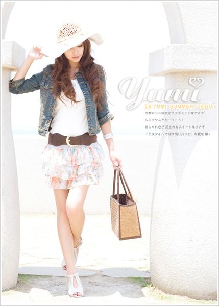 【YUMI】日雜本命ITEM‧跨季實搭單寧七分袖外套.jpg