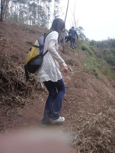 總是必須爬一些山
