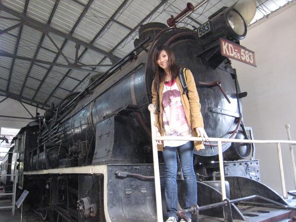 古老火車頭
