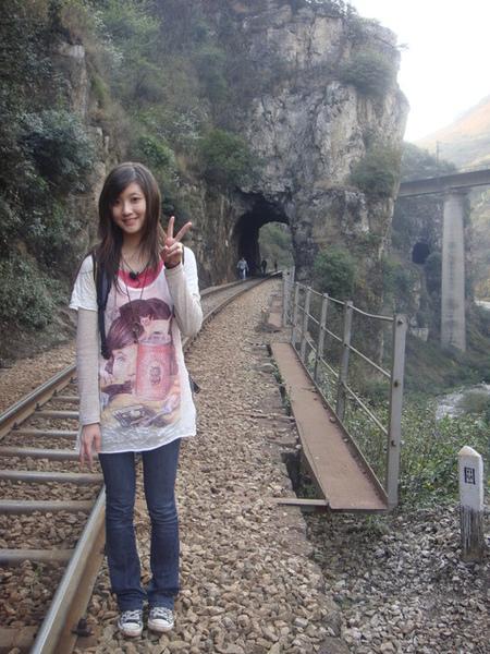 一路上總共會經過十五個隧道