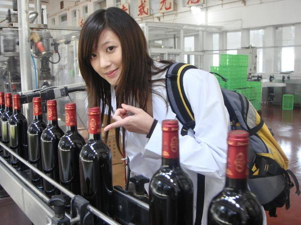 去看很有名的雲南紅葡萄酒製作