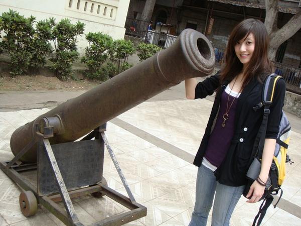 不過這個砲台是當時留下的