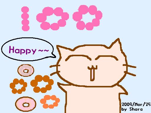 那麼就在吃到甜甜圈的愉悅氛圍中