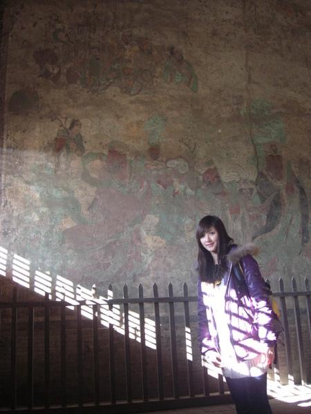 裡面有唐代保留下來的壁畫