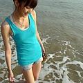 海涼涼的很舒服