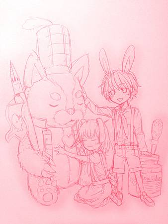 野獸士兵與純真的小兔子們