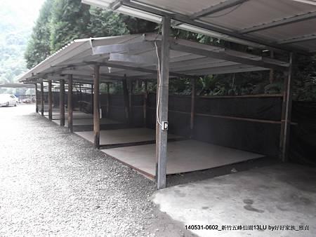 下層內部木棧板營區
