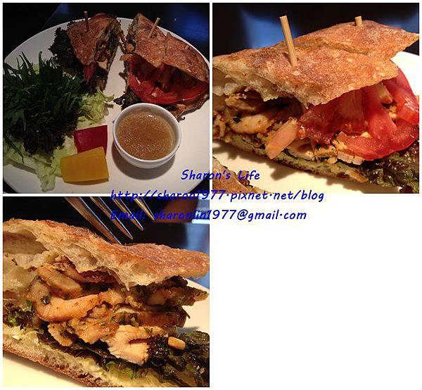 香草雞肉三明治
