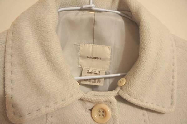 (04) 韓製毛料短大衣 已起毛球 原價快2000 賣340元