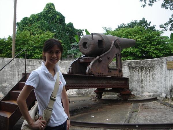 砲台..也是這個島上的景點之一