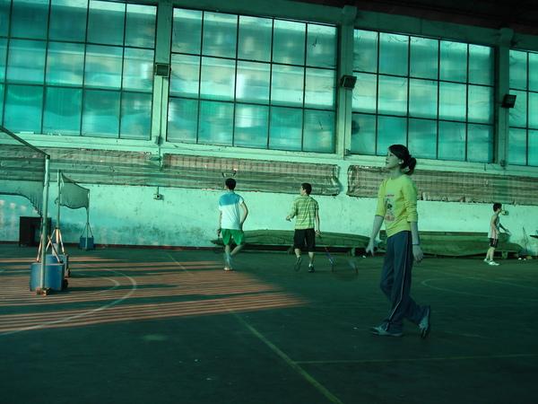 打球運動去