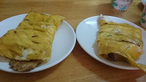 新竹無名早餐店 -  蛋餅加肉排