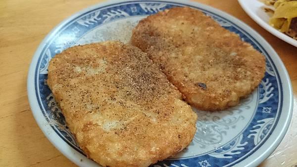 新竹無名早餐店 - 薯餅