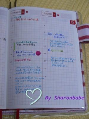 ほぼ日手帳2010-A Page of December 2009