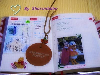 ほぼ日手帳2010-Inner page (Toyko Disney)