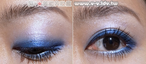 藍色眼影2