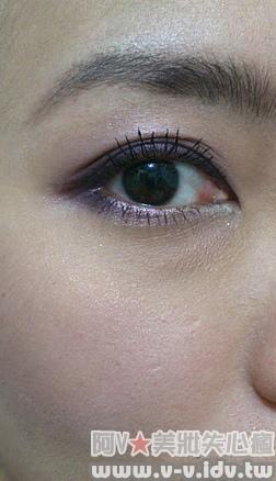 紫色妝手機照3