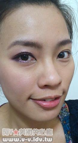 紫色妝手機照2