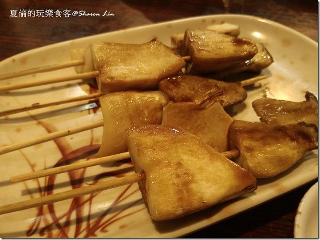 串燒類-杏鮑菇串燒