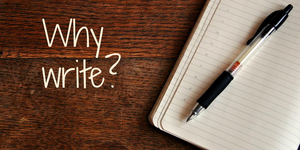 為何要寫作?