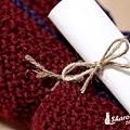 20101224 限量手工暖呼呼圍巾