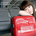 AmericanTourist TOKYO CHIC SPIN時尚行李箱(紅色)