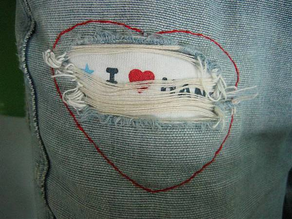 DIY 補褲       (★I love HANG)