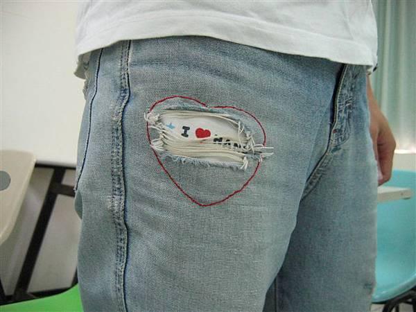 DIY 補褲