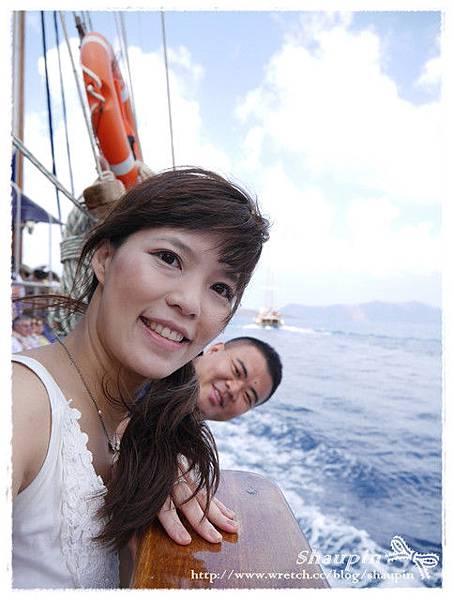 結果搭上海盜船出航