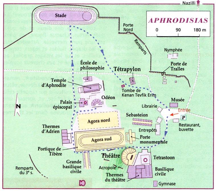 aphrodisias_plan
