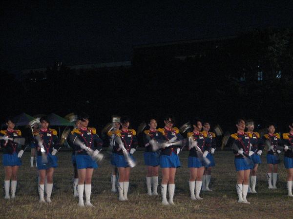 竹北高中儀隊表演4