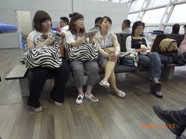 共同等待的韓國人