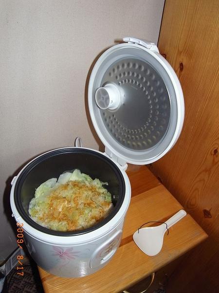 煮了一鍋飯