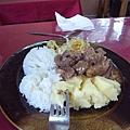 傳統的蒙古餐