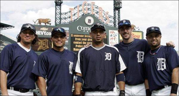 5 all-star tigers