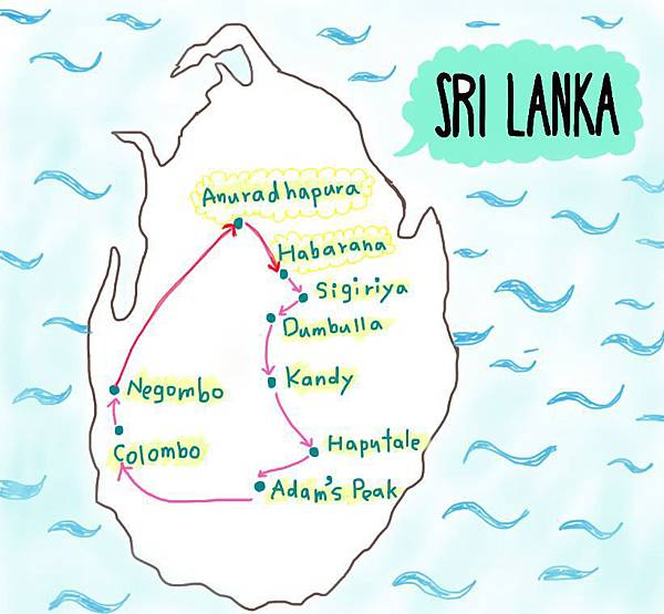 srilanka map0406