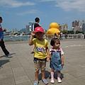 2013.9.25光榮馬頭(黃色小鴨).夢時代 002.jpg