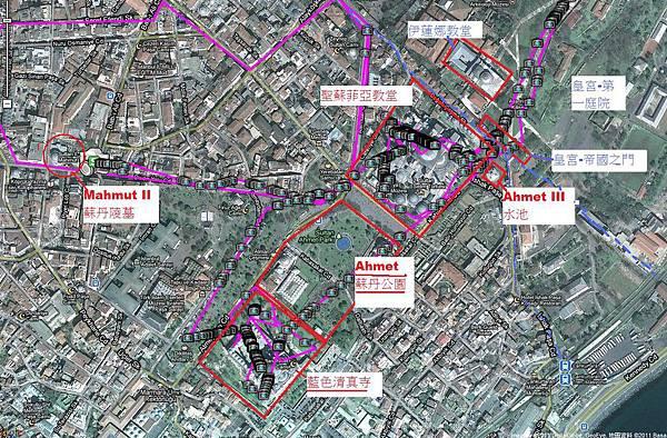 伊斯坦堡舊城區地圖