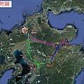 九州行地圖