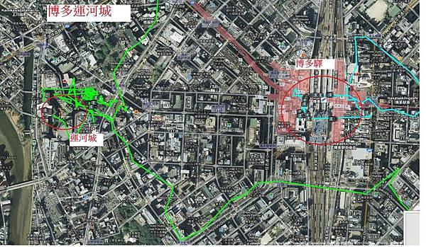九州行地圖-Day3-博多運河城