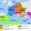 Verdun and Meerssen treaties