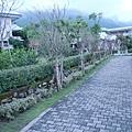 慈濟精舍漂亮的庭園