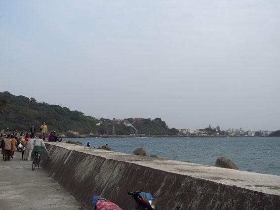 西子灣海堤