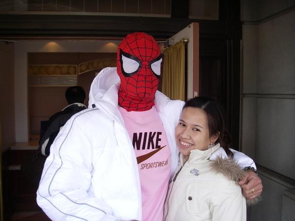 猜蜘蛛人是誰