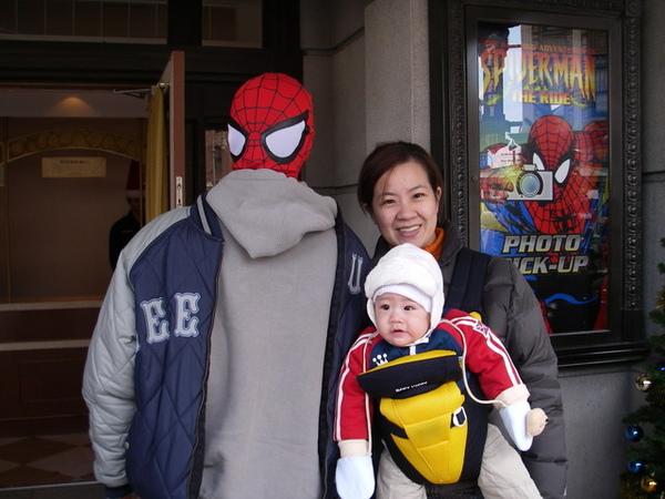 猜猜看誰是蜘蛛人