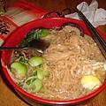 20070911蔬菜雞蛋麵--引起火警警報的一餐..